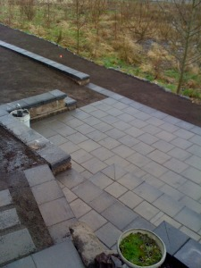 Residential Patio Project Creates Space to Appreciate Natural Surroundings pavers