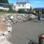 New Rockery install in Redmond