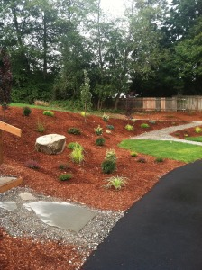 Lakeside Milam Burien commercial grounds ada ramp plantings drainage