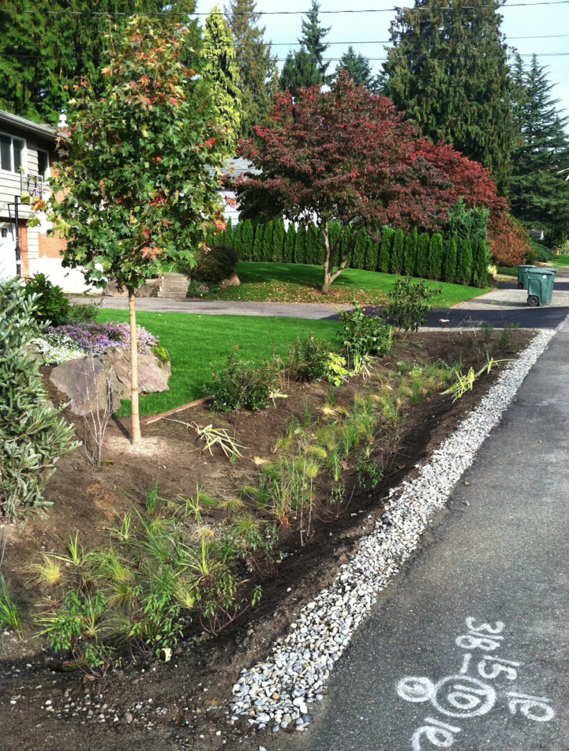 City Of Woodway Swales Effectively Manage Roadwater